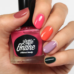 Little Ondine Carnivals Collection Swatches || HannahRoxNails