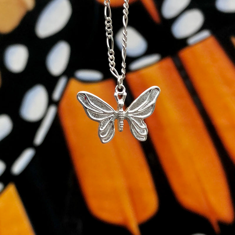 NEW HJ Silver Butterfly Chain
