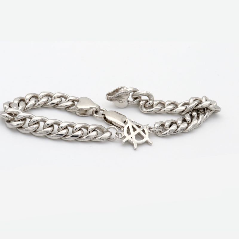 ANARCHY CUBAN BRACELET (TWO SIZES)