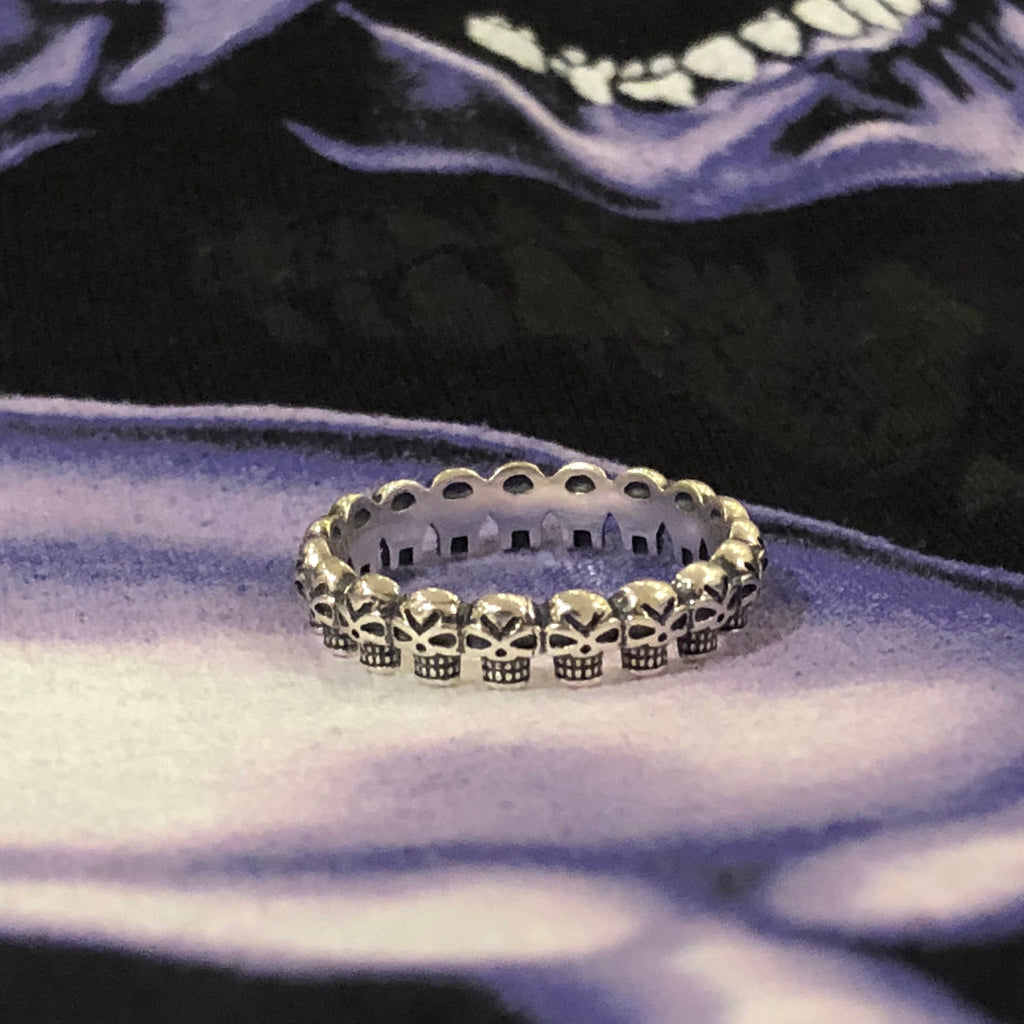 BANDO OF SKULLS RING
