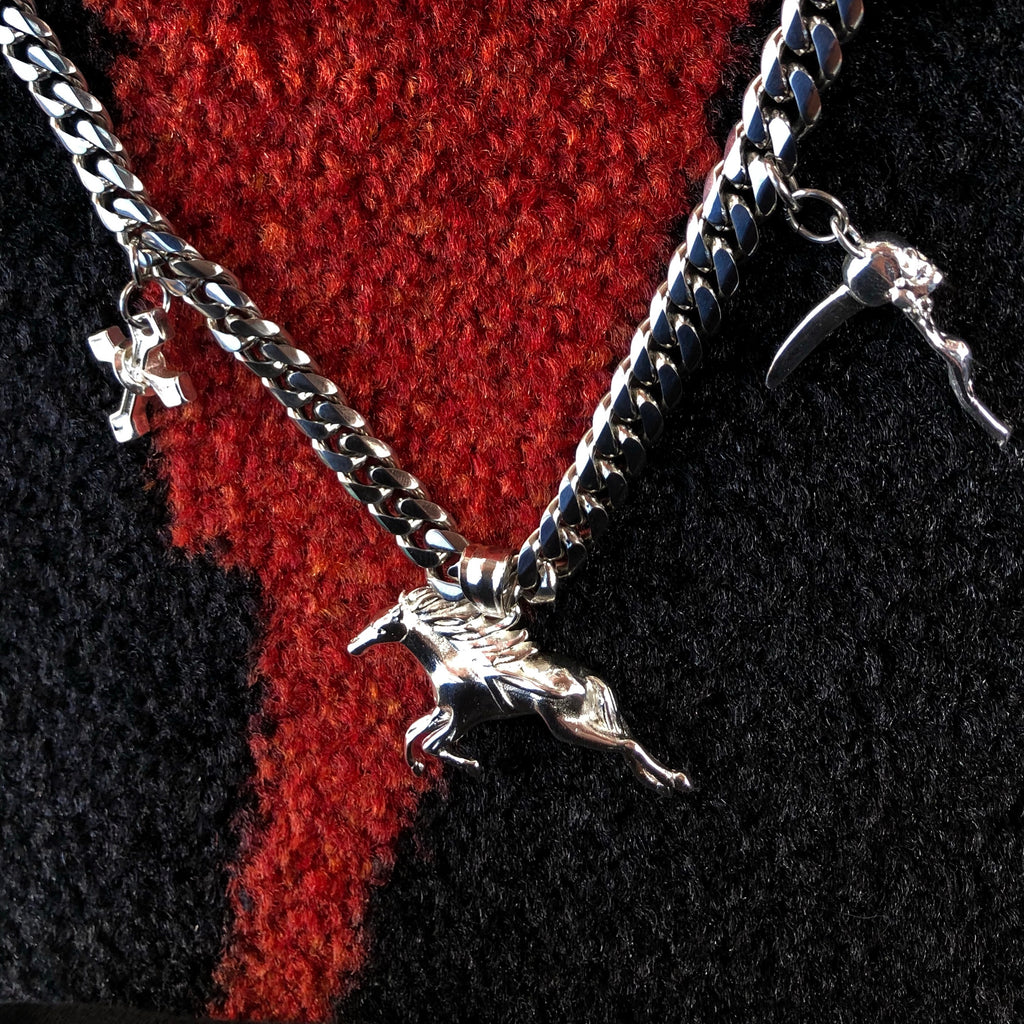 "DEVIL'S RODEO 16-17"" ADJUSTABLE CHOKER *limited"