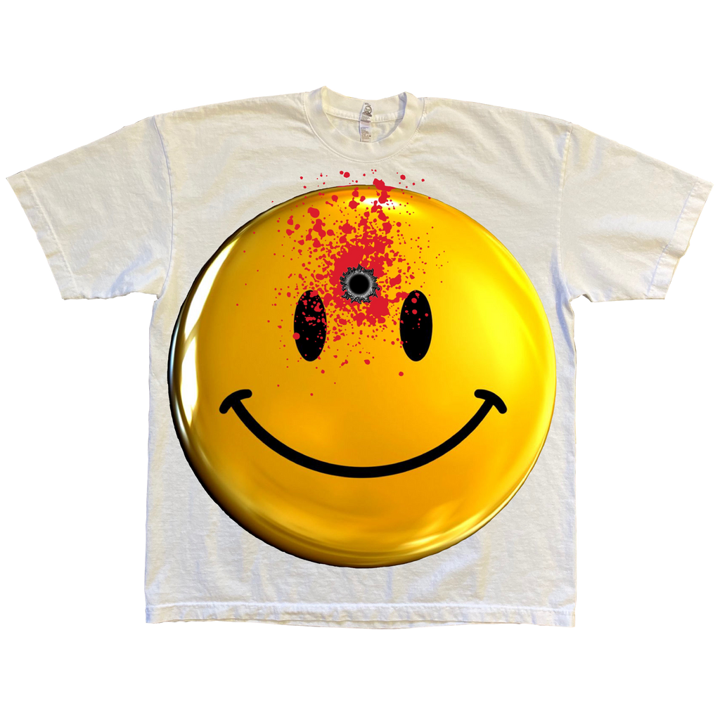 VINTAGE 'STILL SMILING' TEE (double sided)