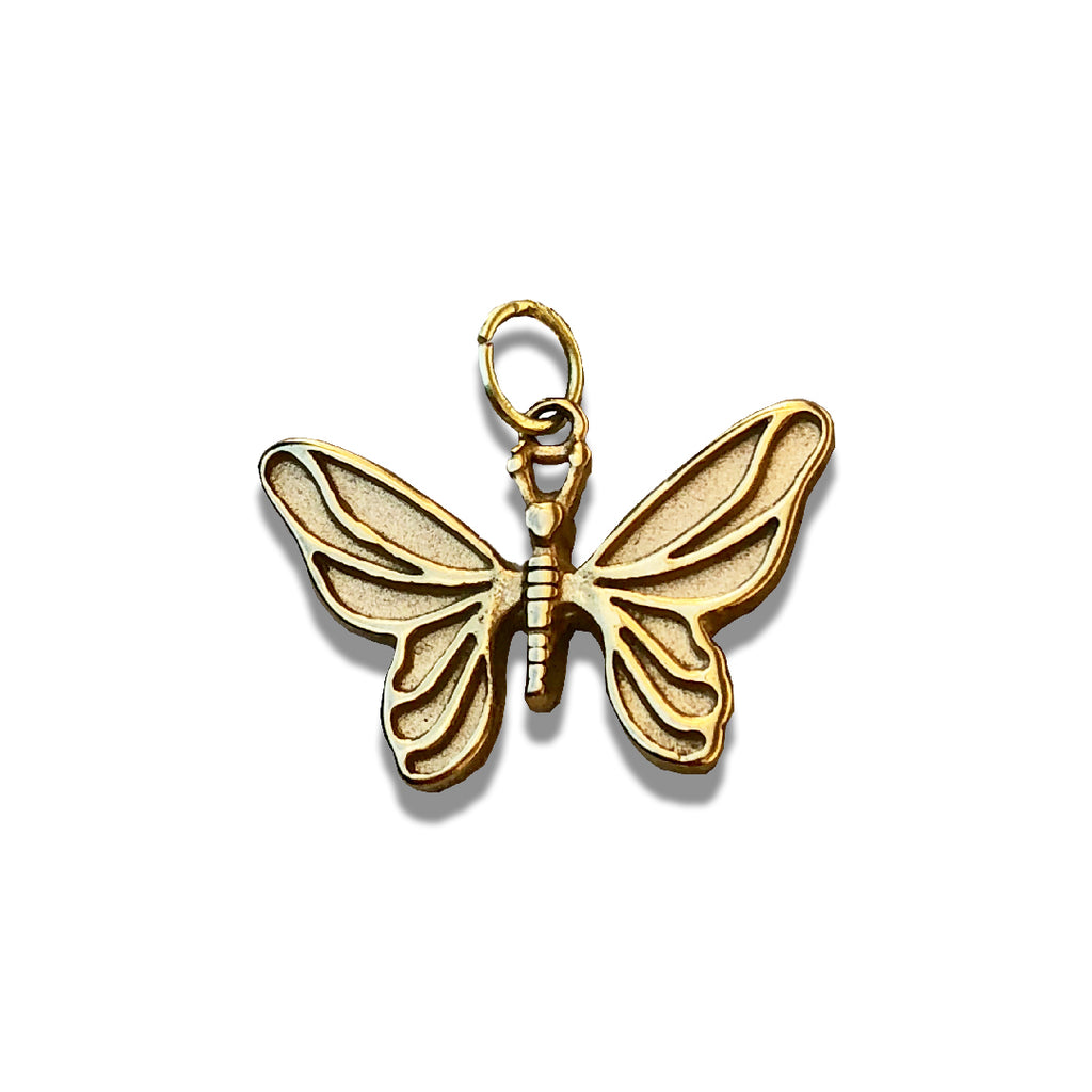 18k GOLD BUTTERFLY CHAIN