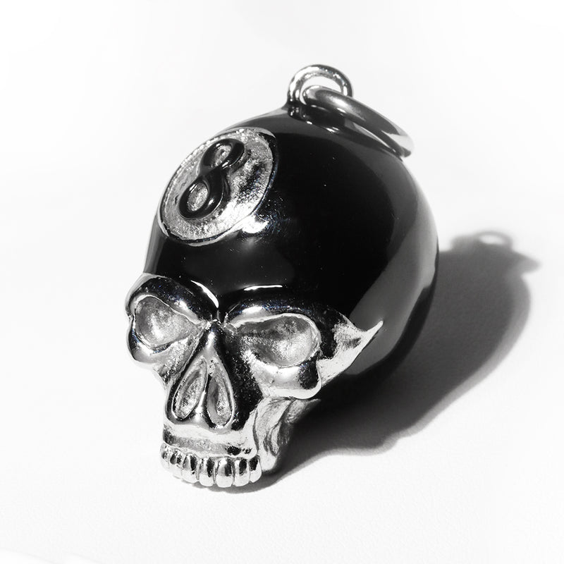 HATE BALL SKULL PENDANT