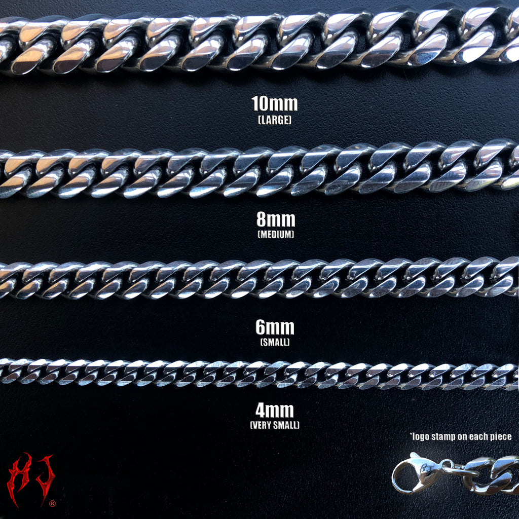 HJ MINI CUBAN CHAINS