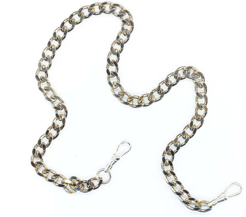 SILVER 7mm WALLET CHAIN 22""
