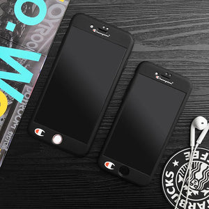 Champion Brand Black iPhone Cases - Tomoris