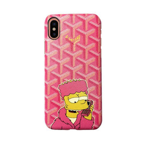 Goyard X Bart Case for iPhone X - Tomoris