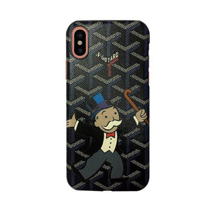 Goyard X Lord Monopoly Case for iPhone X - Tomoris