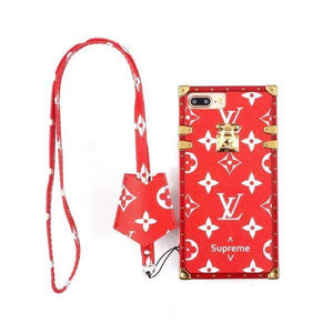 LV x Supreme Monogram Trunk Case - Tomoris
