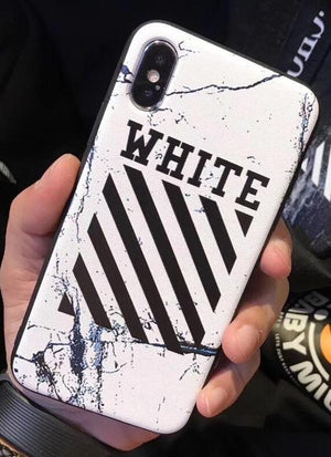 OFF-White Streetwear Brand White/Black iPhone Cases - Tomoris