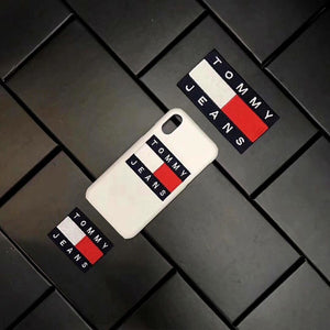 Retro Leather Tommy Hilfiger iPhone Cases - Tomoris