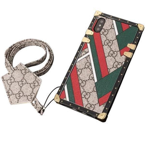 Special Gucci Pattern Trunk Case - Tomoris