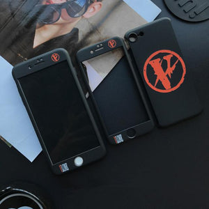 V-LONE Fragment  BRAND WHITE/BLACK IPHONE CASES - Tomoris