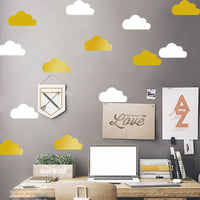 Little Cloud Wall Stickers Wall Decal DIY Home Decoration Wall Art Decor Stickers Muraux For Kids Rooms
