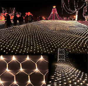 4Mx6M 672 Leds EU220V LED Mesh String Lights