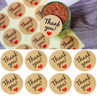 60Pcs Kraft Paper Thank You Gift Tags