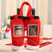 Large Christmas Coke Bottle Gift Bag Christmas candy bag