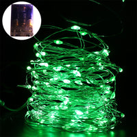 LED Copper Wire String Fairy Lights Lamps Battery Operated