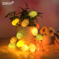 Easter Egg 2M 10 LED Fairy String Lights Battery Power Easter Party Christmas Holiday New Year Indoor Outdoor Decoration