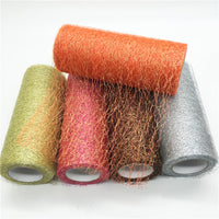 Wire Tissue Tulle Roll DIY Decoration Sheer Gauze