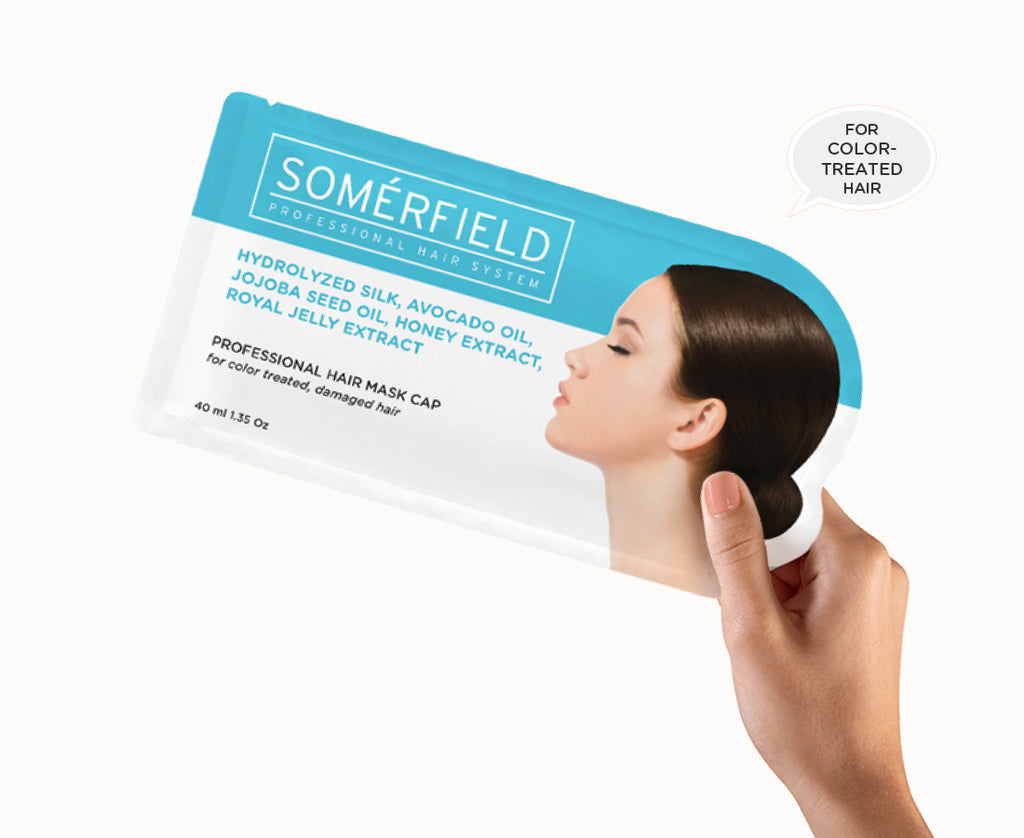 Somerfield Hair Mask Color Damaged Hair Dry Hair Frizzy Hair
