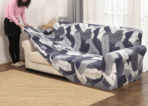 Fine Slip Resistant Easy Wrap Sofa Cover More Colors Gmtry Best Dining Table And Chair Ideas Images Gmtryco
