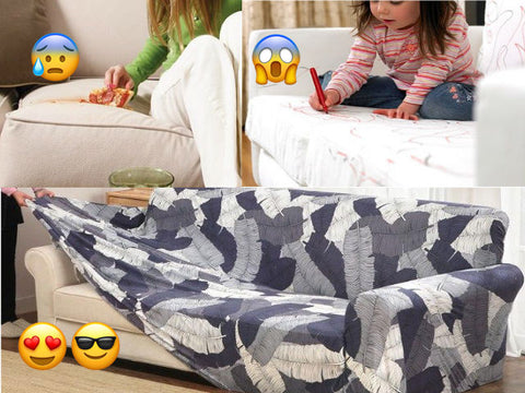 Slip Resistant Easy Wrap Sofa Cover