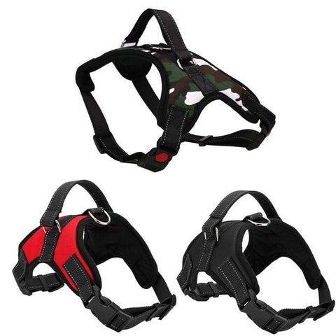 Adjustable Pet Puppy Large Dog Harness for Small Medium Large Dogs Animals Pet Walking Hand Strap Dog Supplies 3 Colors 01 / S