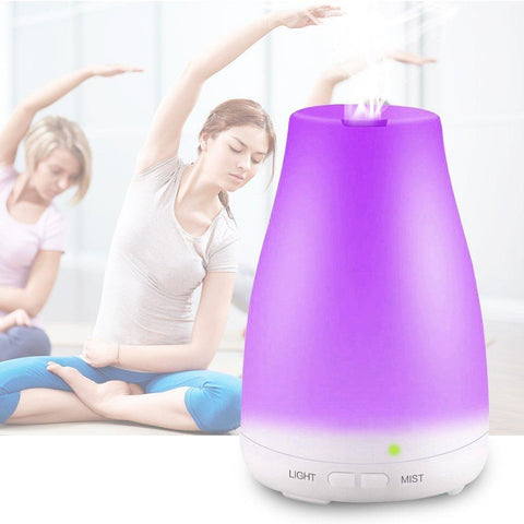 Image of Aroma Essential Oil Cool Mist Humidifier 100ml 100 ml joeypatch