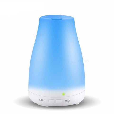 Image of Aroma Essential Oil Cool Mist Humidifier 100ml 100 ml UK joeypatch