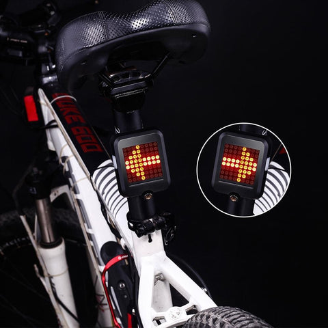 Automatic Direction Indicator Bicycle Tail Light joeypatch