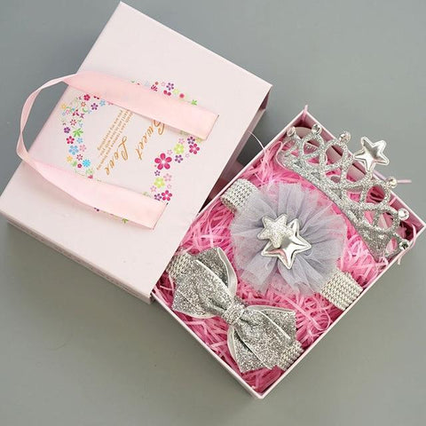Image of Baby Girls Hairband Accessories Set Set 17