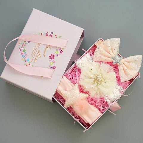 Baby Girls Hairband Accessories Set Set 3