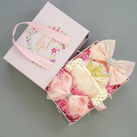 Baby Girls Hairband Accessories Set Set 4