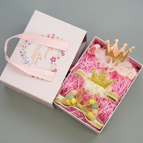 Baby Girls Hairband Accessories Set Set 6