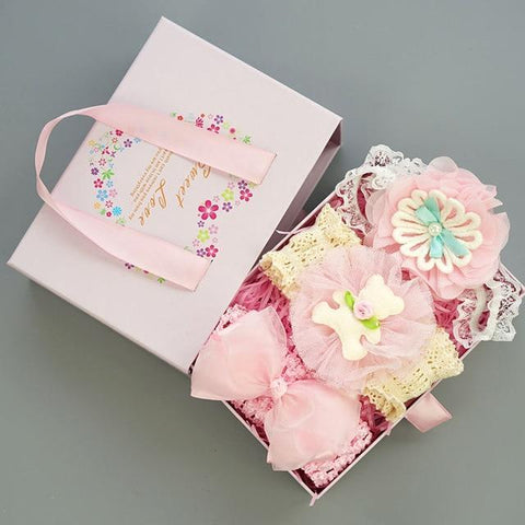 Baby Girls Hairband Accessories Set Set 8