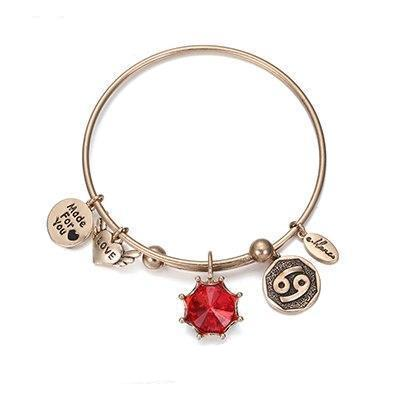 Birthstone Twelve Constellations Fine Bangles July / Silver e-Manco Official Store