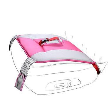 Car Seat belly Cushion Belt for Pregnant women Maternity Care Pink joeypatch