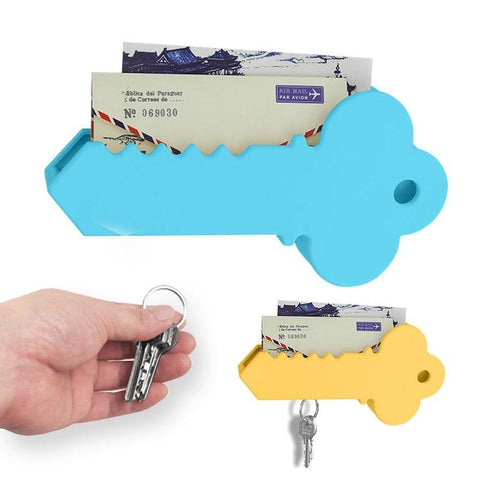 Creative home magnetic key suction Anti-lost key hang Household storage accessories Fashion gift 301-0716 white
