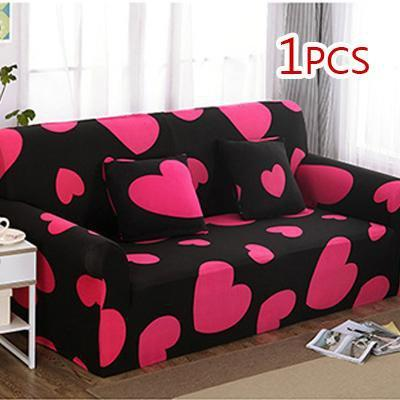 Cross pattern Stretchable Universal Sofa Covers 11 / single seat sofa joeypatch