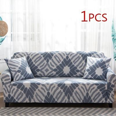 Cross pattern Stretchable Universal Sofa Covers 12 / single seat sofa joeypatch