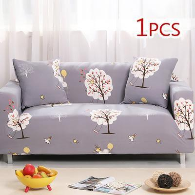 Cross pattern Stretchable Universal Sofa Covers 13 / single seat sofa joeypatch