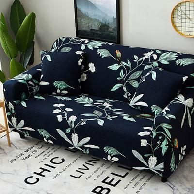 Cross pattern Stretchable Universal Sofa Covers 14 / single seat sofa joeypatch