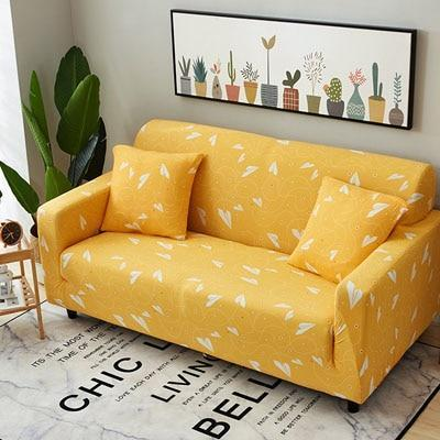 Cross pattern Stretchable Universal Sofa Covers 16 / single seat sofa joeypatch