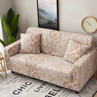 Cross pattern Stretchable Universal Sofa Covers 17 / single seat sofa joeypatch
