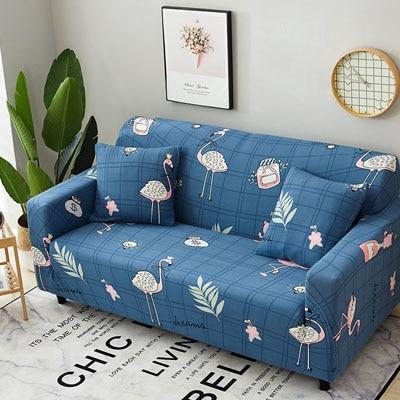 Cross pattern Stretchable Universal Sofa Covers 18 / single seat sofa joeypatch