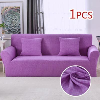 Cross pattern Stretchable Universal Sofa Covers 19 / single seat sofa joeypatch