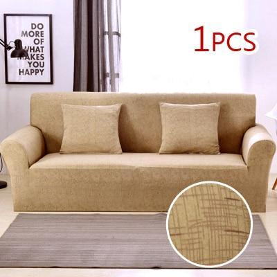Cross pattern Stretchable Universal Sofa Covers 4 / single seat sofa joeypatch