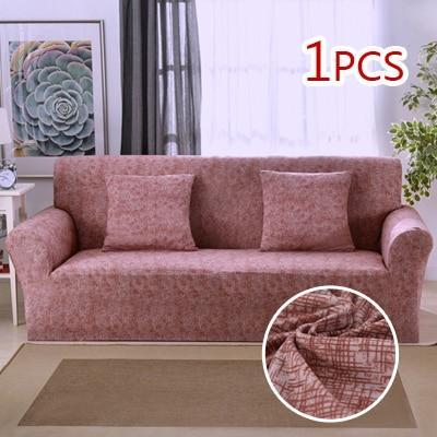 Cross pattern Stretchable Universal Sofa Covers 5 / single seat sofa joeypatch